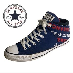 Converse All Star High-top Navy/Red/White Size 12